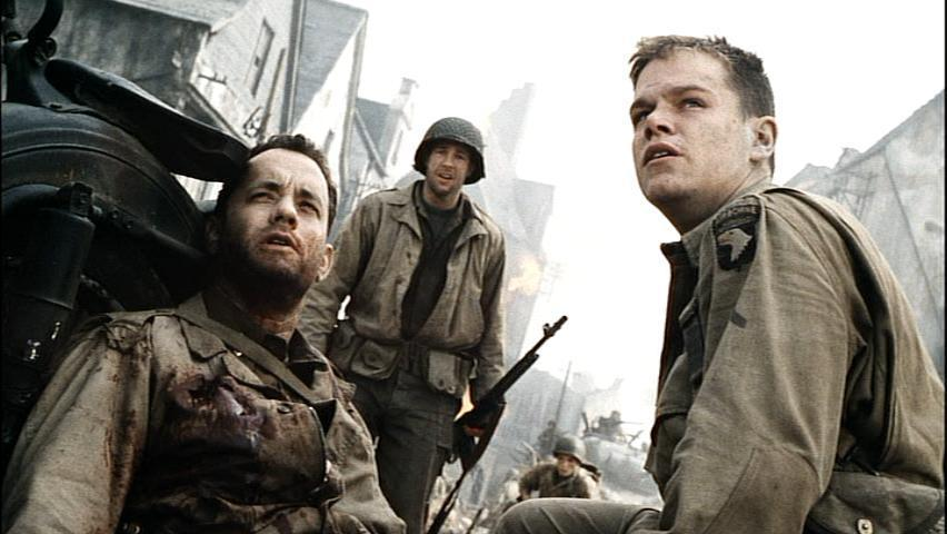 Saving Private Ryan images Captain Miller, Reiben & Ryan HD ... | {Reiben 30}