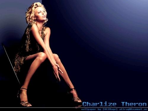 查理兹·塞隆 壁纸 entitled Charlize