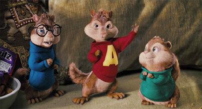 Alvin at mga tsipmank wolpeyper entitled Chipmunks