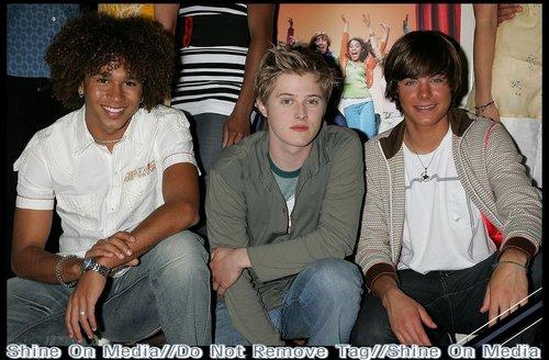 Corbin, Lucas & Zac