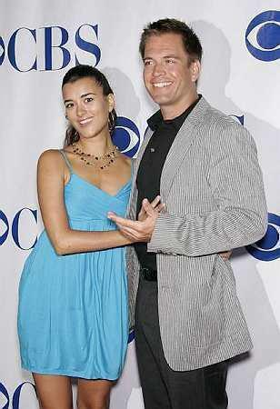 Tiva fondo de pantalla with a well dressed person entitled Cote de Pablo and Michael Weatherly