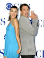 Cote de Pablo and Michael Weatherly - tiva photo