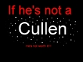 Cullen Boys Only - stephenie-meyer fan art