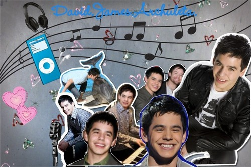 David Archuleta fondo de pantalla Two (made por manda)