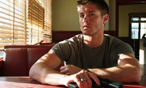 dean winchester wallpaper possibly containing a living room, a family room, and a morning room called Dean/Jensen