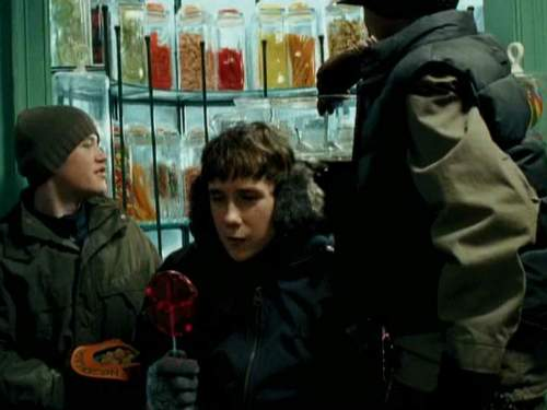 Devon Murray as Seamus Finnegan and Matthew Lewis as Neville Longbottom