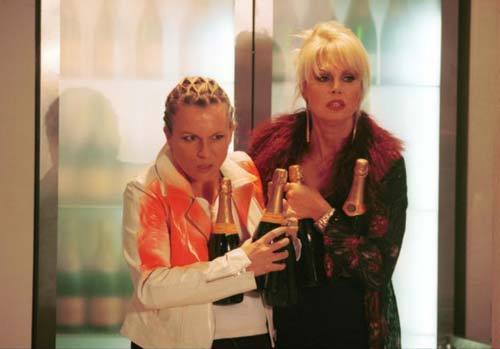 Absolutely Fabulous wallpaper probably containing a portrait titled Eddy & Patsy