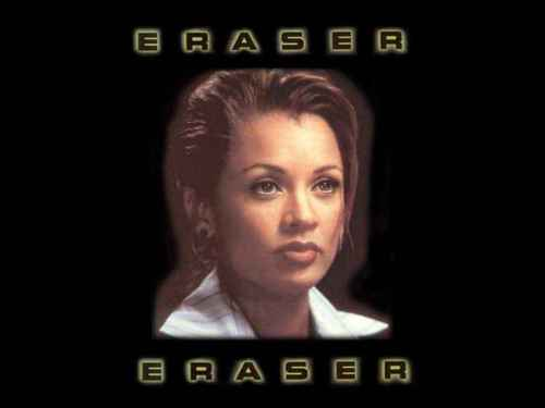 Vanessa Williams achtergrond possibly with a portrait called Eraser
