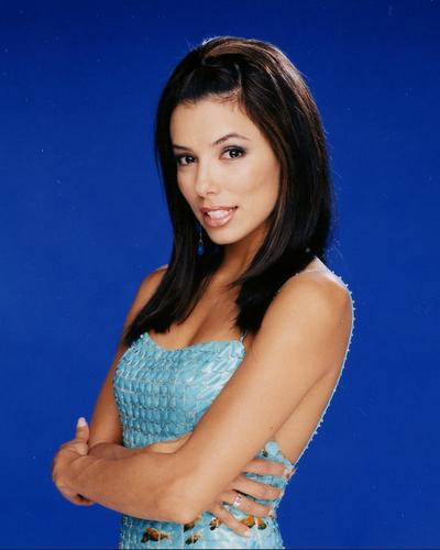 Eva Longoria wallpaper possibly with attractiveness, a chemise, and a bustier titled Eva