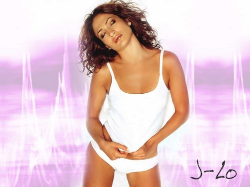 FHM wallpaper possibly containing a chemise titled FHM-Jennifer Lopez