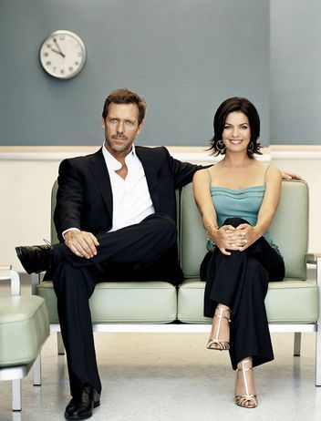 Dr. Gregory House wallpaper containing a business suit, a well dressed person, and a suit entitled Greg and Stacey