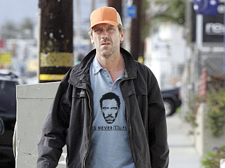 Hugh Laurie KNOWS it's never Lupus