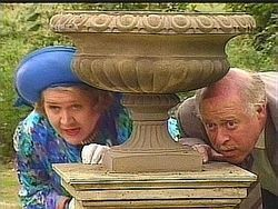 Hyacinth & Richard Hiding