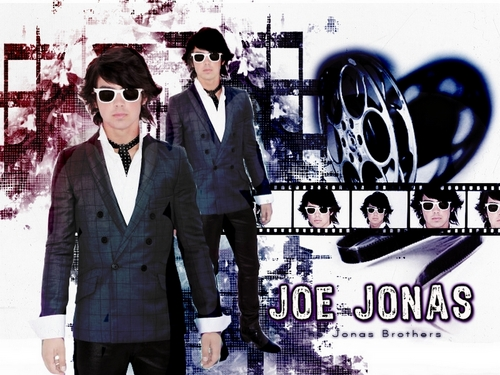 The Jonas Brothers wallpaper containing a business suit, a well dressed person, and a suit called JB