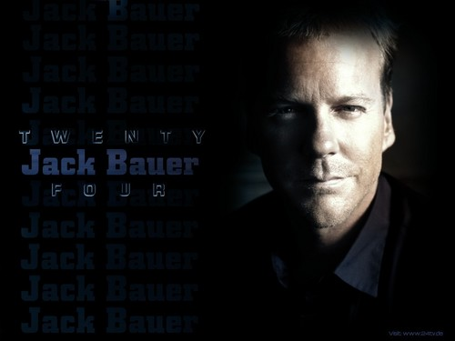 24 wallpaper titled Jack Bauer 24