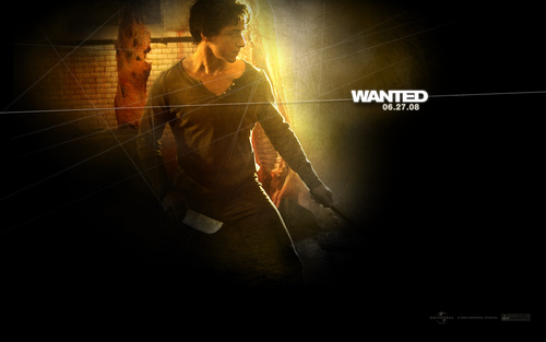 James McAvoy - Wesley Gibson - wanted Wallpaper