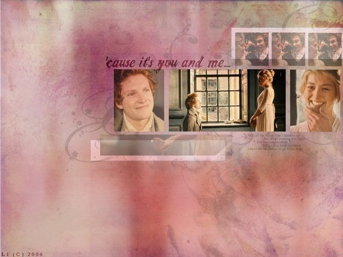 Jane &amp; Bingley - pride-and-prejudice Wallpaper