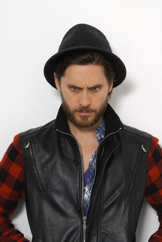 Jared Leto wallpaper possibly containing an outerwear, a well dressed person, and a box coat entitled Jared