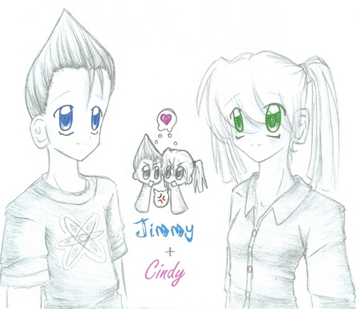 Jimmy Neutron tagahanga Art