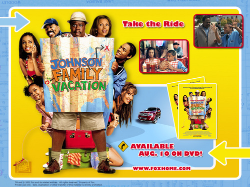 Vanessa Williams achtergrond containing anime entitled Johnson Family Vacation