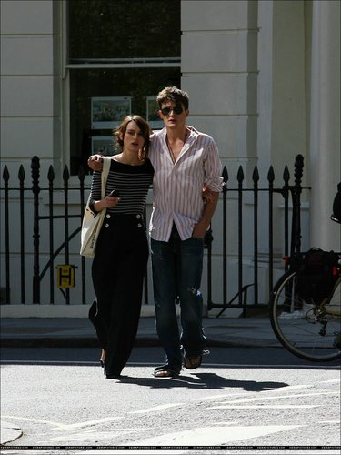 Keira Knightley & Rupert Friend