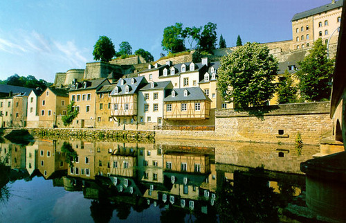 Luxembourg wallpaper probably with a brownstone, a manor, and a chateau called Luxembourg City