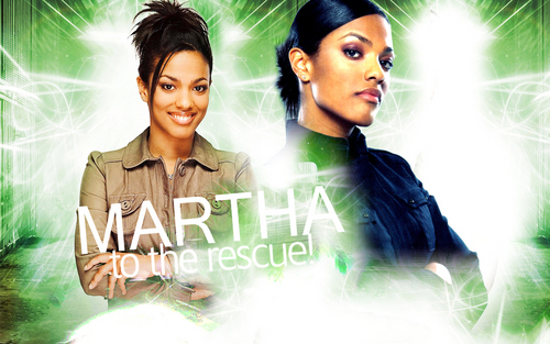 doctor who wallpaper probably containing a bridesmaid, a well dressed person, and a portrait titled Martha Jones wallpaper