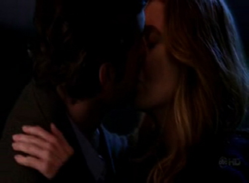Meredith Derek kiss in Freedom