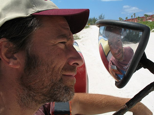 Dirty Jobs wallpaper possibly containing a boater and a fedora titled Mike Rowe