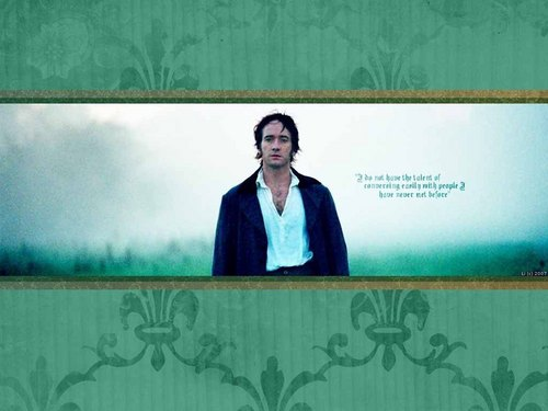 Pride and Prejudice wallpaper entitled Mr. Darcy