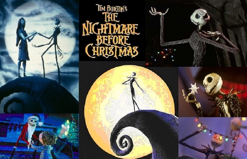 Nightmare Before pasko Background