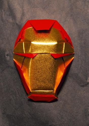 Origami Iron Man