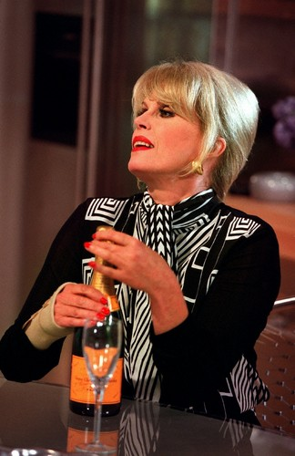 Absolutely Fabulous wallpaper possibly containing a wine bar entitled Patsy
