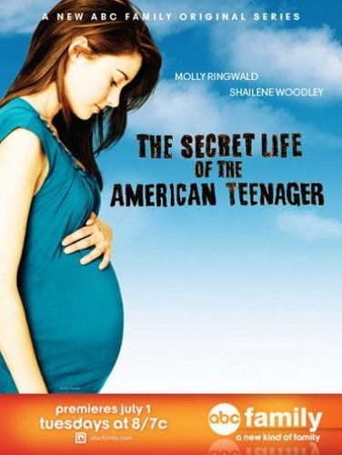 The Secret Life of The American Teenager kertas dinding probably containing a portrait and Anime entitled Poster