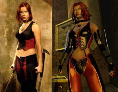 Rayne in Movie & Game