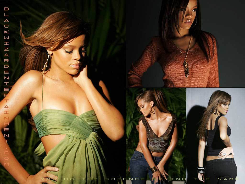Rihanna Wallpapers @ Muzic- 1024X768