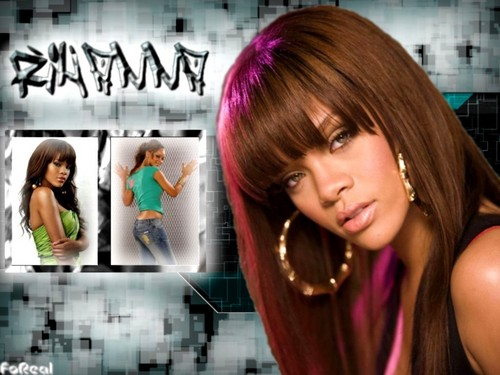 Rihanna wallpaper containing a portrait entitled Rihanna WallPaper