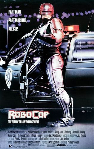 Robocop wallpaper possibly with an automobile, a ski rack, and a sedan entitled Robocop 1 Poster