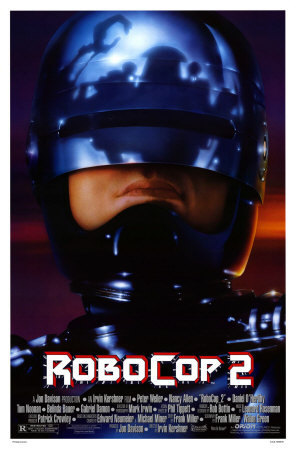 Robocop wallpaper entitled Robocop 2 poster