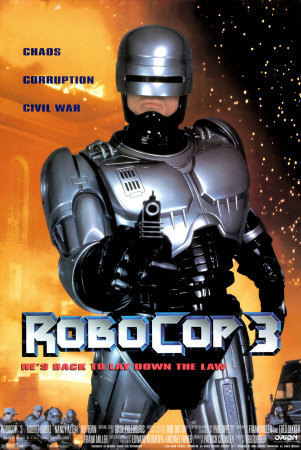 Robocop wallpaper with Anime called Robocop 3 Poster