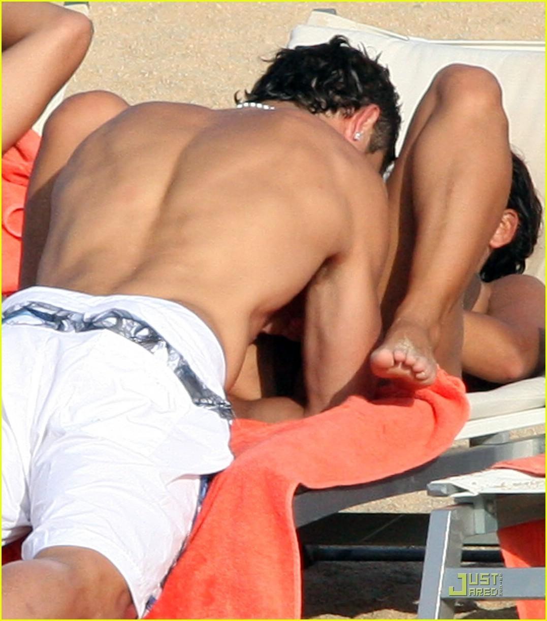 Ronaldo and Nerida on holiday in Italy