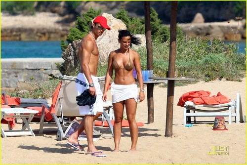 Ronaldo and Nerida on holiday in Italy