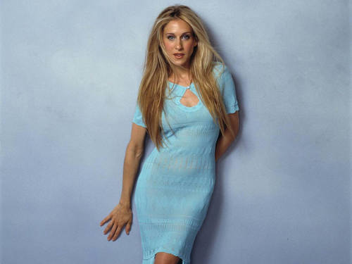 Sarah Jessica Parker wallpaper probably containing a chemise called SJP