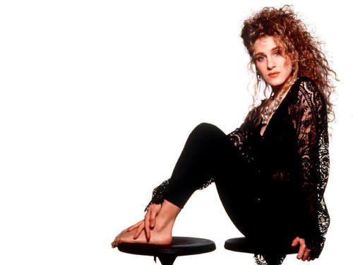 Sarah Jessica Parker wallpaper containing a hip boot titled SJP