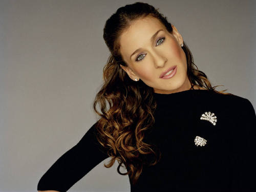 Sarah Jessica Parker achtergrond with a portrait called SJP