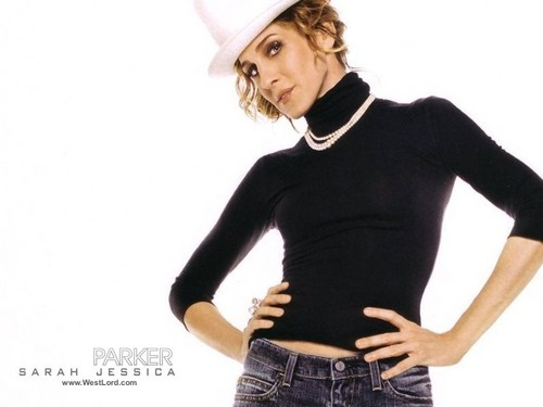 Sarah Jessica Parker wallpaper possibly containing a legging, long trousers, and bellbottom trousers titled SJP