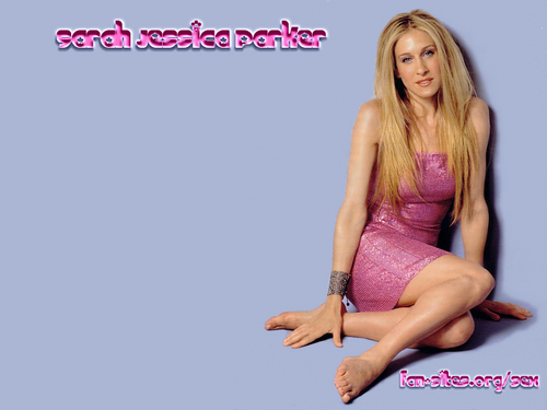 Sarah Jessica Parker wallpaper probably containing a bustier, a cocktail dress, and tights called SJP