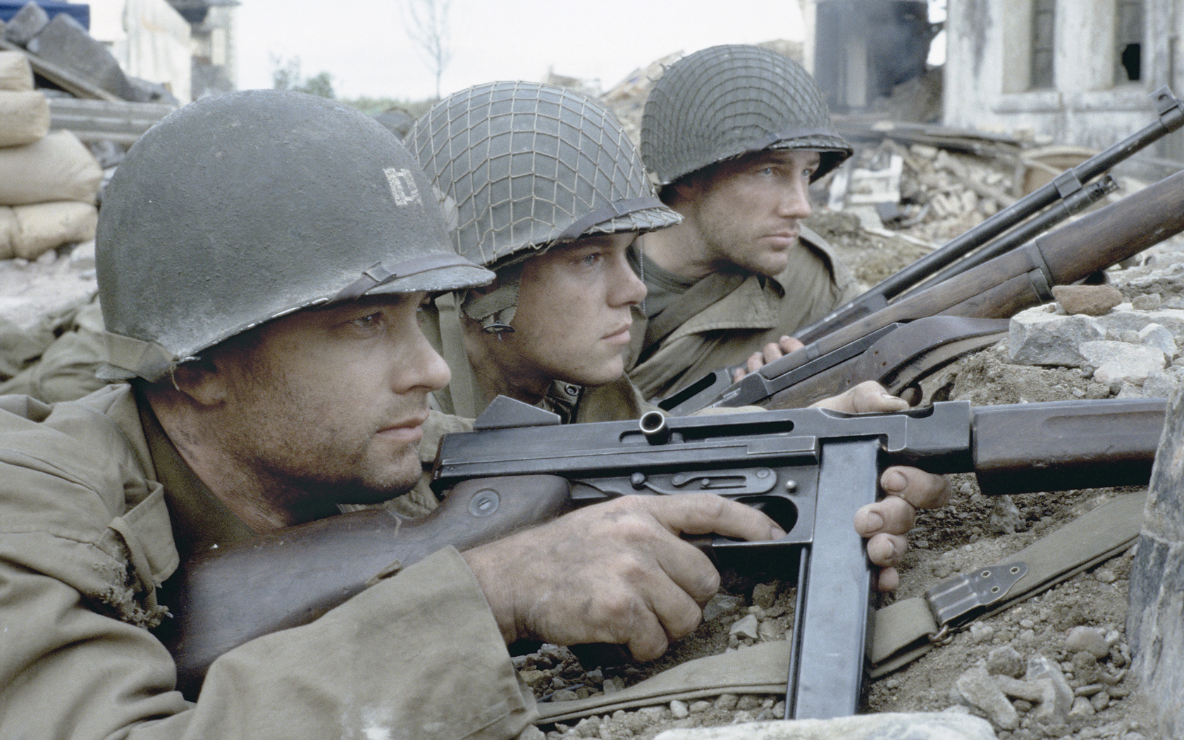 Saving Private Ryan images Miller, Ryan & Reiben HD wallpaper and ... | {Reiben 21}
