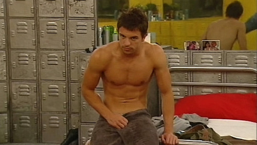 Big Brother UK پیپر وال probably with a card index called Shirtless Dale bb9