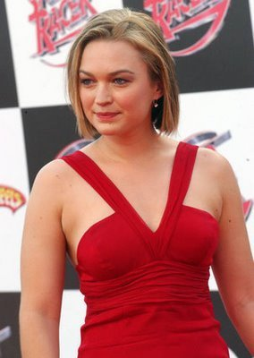 Sophia at the Speed Racer premiere